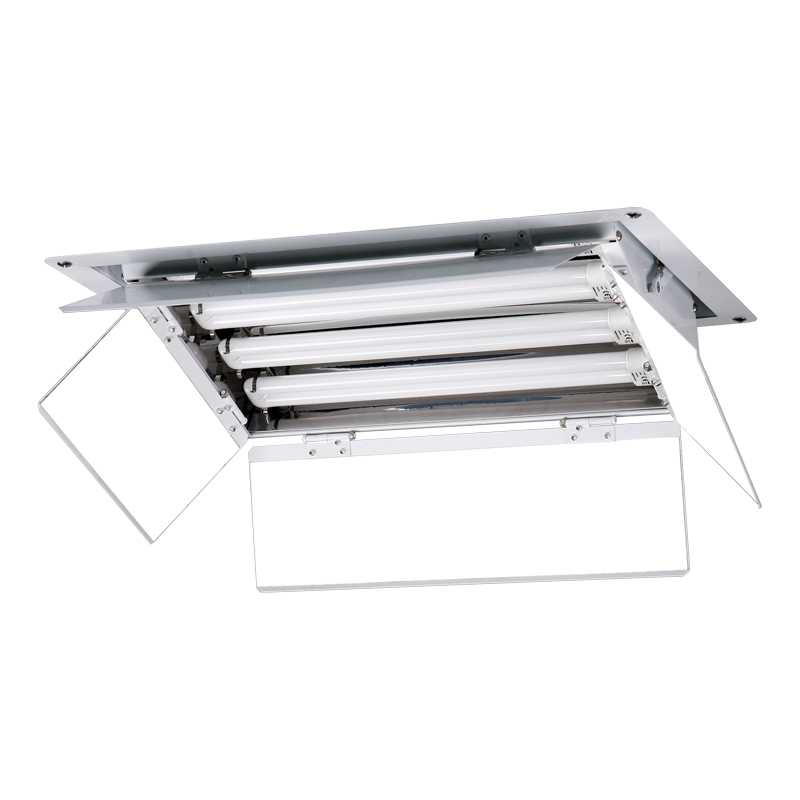 built-in tricolor fluorescent light